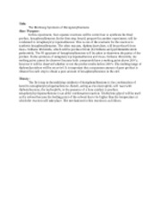 hexaphenylbenzene synthesis multistep lab report
