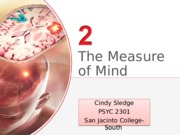 Chapter 2 The Measure of Mind(1)