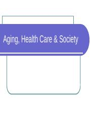 Aging, Health Care & Society (1) - Copy