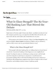 What Is Glass-Steagall_ The 82-Year-Old Banking Law That Stirred the Debate - The New York Times.pdf
