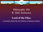 Lord of the Flies rev sp 11
