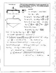 1359_Mechanics Homework Mechanics of Materials Solution
