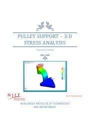 Static Structural Analysis of  Pulley Support.pdf