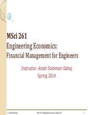 MSCI 261 Combined Lectures