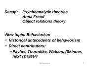 Chapter+13+Behaviorism-1