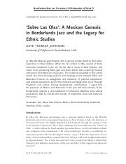 06_Sobre Las Olas A Mexican Genesis in Borderlands Jazz and the Legacy for Ethnic Studies.pdf