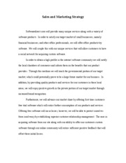 Sales and Marketing Strategy_Essay