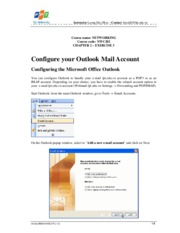 Configuring the Microsoft Office Outlook_CMS