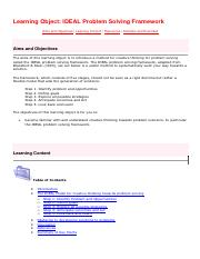 Learning Object 6.1 - IDEAL Problem Solving Framework(1).pdf