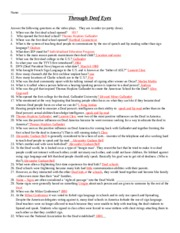 THROUGH DEAF EYES II - answer key.docx