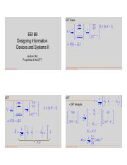Lecture14B pdf - EE16B Designing Information Devices and