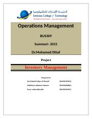 Project_Operations_Management