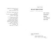 Waters - Black Identities (Read Intro&Ch.5)