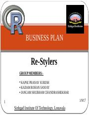 RESTYLERS BUSINESS PLAN.pptx