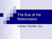 10_The Eve of the Reformation