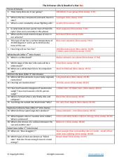 Worksheet Key Life And Death Star The Universe Life Death Of A