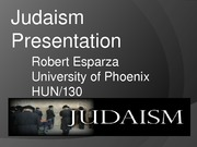 Judaism Presentation-RE