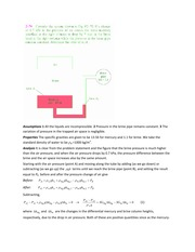 MECH 233 Spring 2014 Tutorial 3 Solutions