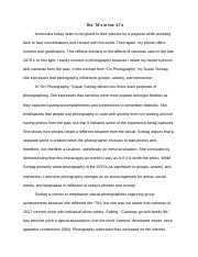 Strong Response Essay-2