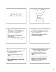 APADiscussions - Anatomy of an APA Paper Writing APA-Style ...