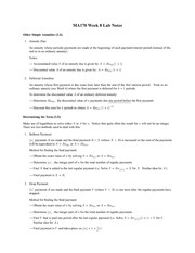 Lab 8 Notes