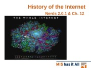 Class 16 - History of the Internet (2)