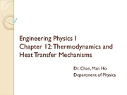 Ch 12 Heat and Thermodynamics