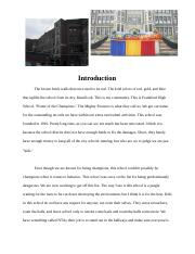 Book Project ENGL 100