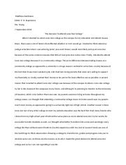 EDUC lone star college selection paper.docx