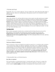 Government Analysis and Notes 9