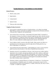 Nursing Diagnosis 2 - Noncompliance to Drug Regimen - Notes