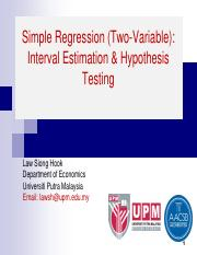 3 Simple Regression Interval and Hypothesis Testing ECN.pdf