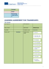 learning-agreement-for-traineeships Zuyd versie