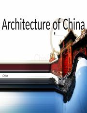 Architecture of China real