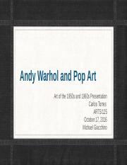 Andy Warhol and Pop Art.pptx