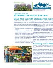 7.6.6.1 - Sustainable Communities - Options for an Alternative Food System.PDF