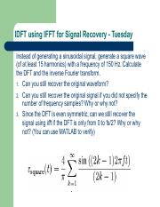 Lab09 - IDFT using IFFT for Signal Recovery.pdf
