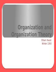 1-Organization and Organization Theory.pptx