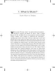 Daniel J. Levitin - This is Your Brain on Music - Elements of Music