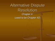 Chapter 4 - Alternative Dispute Resolution (2014 BL2) tp (post)