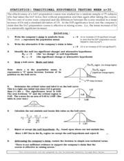 MATHEMATIC 119 : Elementary Statistics 119 - San Diego City