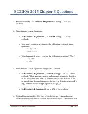 Chapter 3 questions