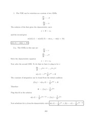 Differential Equations Lecture Work Solutions 232