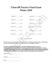 Chem 6B Practice Final Exam  Winter 2020-1.pdf