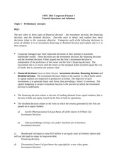 finc2011 assessment View homework help - [week1]finc2011 introductory lecture (student) from finc 2011 at university of sydney finc2011 corporate finance 1 semester 1 2017 introductory lecture business school teaching.