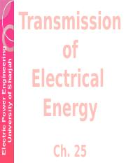 Transmission of Electrical Energy-Ch25.pptx