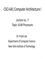 CSCI641lectur7Fall2015