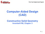 09-30 Lecture 3 - Inventor_Const Solid Geometry