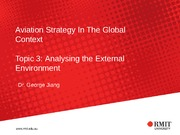 AERO2408 Topic 3 PPT Analysing the External Environment_Powerpoint Presentation