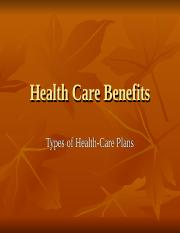 Health Care Benefits.ppt
